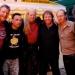 Ossis mit Hans die Geige und Michael Barakowski (Perl)